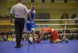 Lietuvos bokso čempionate vilniečiai apgynė namų sienas