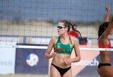 Europos jaunimo paplūdimio tinklinio čempionate – pirmosios lietuvių pergalės