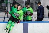 """Prieš Baltijos lygos startą """"Kaunas Hockey"""" sutriuškino""""Hockey Punks"""""""