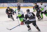 """Paskutinėmis minutėmis išsigelbėjęs """"Kaunas Hockey"""" klubas išplėšė trečiąsias pusfinalio serijos rungtynes"""