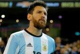 """L.Messi: """"Nežinau ar 2014 metų randas kada nors užgis"""""""