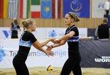 Lietuvos paplūdimio tinklininkės sezoną pradėjo prestižiniame turnyre Olandijoje
