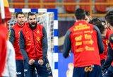 Pasaulio rankinio čempionate ispanai sukomplikavo vokiečių padėtį