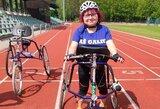 """""""Druskininkai Run 2020"""" starte – ir neįgalieji, bėgantys su triračiais"""