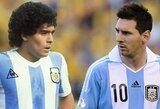"""Buvęs Argentinos rinktinės treneris: """"L.Messi privalo laimėti pasaulio čempionatą, kad pasiektų D.Maradonos lygį"""""""