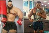 """Dirbtinai raumenis """"pumpavęs"""" ir rankų vos nepraradęs Brazilijos """"Hulkas"""" metė iššūkį Irano monstrui: """"Nuplėšiu tau galvą"""""""