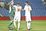 """E.Zubas ir N.Valskis padėjo """"Bnei Yehuda"""" klubui išlikti aukščiausioje lygoje, V.Slivka sugrįžo ant suolo"""
