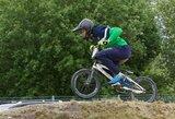 Lietuvos dviratininkus pasaulio BMX čempionate sustabdė griūtys