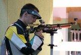 Lietuvos šauliai – toli nuo lyderių Europos čempionate
