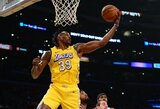 """""""Lakers"""" pasiliko D.Howardą iki sezono pabaigos"""