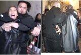 Skandalas F.Mayweatherio gimtadienio vakarėlyje: reperis Tyga bandė griebti pistoletą