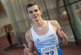 Bėgikas S.Bertašius Serbijoje pagerino Lietuvos rekordą ir priartėjo prie Tokijo olimpiados