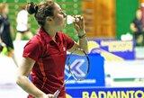 Badmintono turnyre Austrijoje lietuvės liko be pergalių