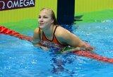 R.Meilutytė Prancūzijoje pagerino dar vieną J.Jefimovos sezono rekordą ir iškovojo auksą!
