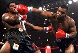 Persistengė: M.Tysonas filmavimo metu vos nesulaužė nosies buvusiam UFC čempionui
