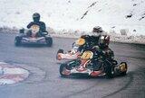 Žiemą kartingo lenktynininkai pradėjo dalyvių skaičiaus rekordu