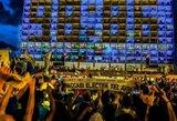 Tel Avivas griausmingai sutiko Eurolygos čempionus