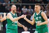 E.Ulanovas ir A.Milaknis – tarp lojaliausių Eurolygos žaidėjų