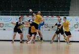 Lietuvos rankinio federacijos taurės kovos prasidėjo netikėtu rezultatu