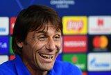 """A.Conte pasijuokė iš taktinių patarimų davusio žurnalisto: """"Galiu patarti, kaip parašyti straipsnį"""""""
