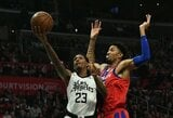 """Trečias """"Clippers"""" krepšininkas paliko Orlando burbulą"""