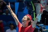 """""""ATP Cup"""": K.Nishikori praradimas nesutrukdė Japonijos rinktinei sutriuškinti varžovų"""