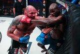 """Pirmą kartą Paryžiuje vykusiame """"Bellator"""" renginyje –T.Johnsono pasiektas revanšas prieš veteraną Ch.Kongo"""
