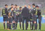 """""""Inter"""" tik po baudinių serijos palaužė 3-os Italijos lygos komandą"""