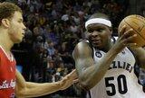 """""""Grizzlies"""" sušvelnino serijos su """"Clippers"""" rezultatą"""