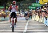 """Alinančiame """"Tour de France"""" etape triumfavo Th.de Gendtas, lyderio marškinėlius susigrąžino J.Alaphilippe'as"""