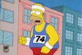 """Linksmiausi kadrai iš """"Simpsonų"""" sporto gyvenimo"""
