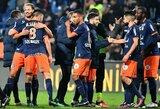 """Sensacija Prancūzijoje: """"Montpellier"""" sutriuškino PSG klubą"""