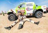 V.Žala parduoda Dakaro ralio visureigį, paaiškėjo jo kaina