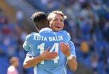 """Italijoje """"Lazio"""" pasismagino prieš vienus lygos autsaiderių"""