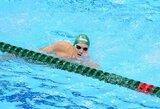M.Sadauskas 50 m plaukime laisvu stiliumi Universiadoje užėmė 14-ą vietą