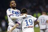 """Monaco"" klubui – kirtis Bordo mieste, Lione – A.Lacazette'o ""hat-trickas"""
