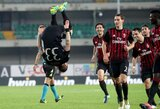 """""""Milan"""" triumfavo Veronoje ir veržiasi į """"Serie A"""" lyderių gretas"""