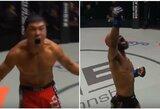 UFC žvaigždės debiutavo ONE: E.Alvarezą nokautavo rusas, D.Johnsonas susitvarkė su japonu