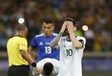 """Peru rinktinės treneris nepritaria L.Messi nuomonei: """"Jeigu jis nori kalbėti apie korupciją, jam reikia labai stiprių įrodymų"""""""