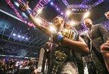 """""""UFC 243"""" turnyre pagerintas visų laikų lankomumo rekordas"""