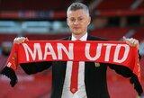 """Nuolatiniu """"Man United"""" treneriu tapęs O.G.Solskjaeras žada ankstyvus pirkinius"""