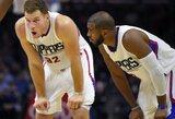 """Clippers"" komanda neteko lyderio B.Griffino"