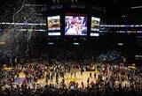 """""""Lakers"""" čempionų žiedus pavogęs apsaugos darbuotojas už grotų praleis beveik pusę metų"""