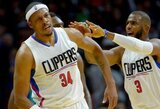"""Be lyderio žaidžiantis """"Clippers"""" klubas pasikinkė pergalingą vėją"""