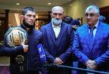 Rusijos bokso federacijos vadovas pasirengęs organizuoti parodomąją Ch.Nurmagomedovo kovą