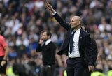 """Z.Zidane'as: """"Pasiaiškinimų aš neieškosiu. Įvyko tai, kas įvyko"""""""