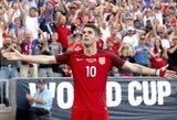 C.Pulišičius tapo jauniausiu JAV metų futbolininku