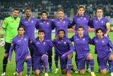 """""""Fiorentina"""" komandoje –šeši teigiami koronaviruso testai"""