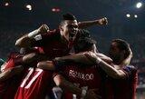 Prancūzija ir Portugalija iškovojo bilietus į pasaulio čempionatą, Belgijos mačą vainikavo brolių Hazardų šou