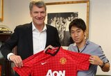 "S.Kagawa oficialiai tapo ""Manchester United"" klubo nariu"